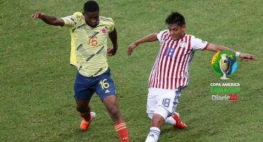 A Colombia no le sobró nada, pero venció a Paraguay por Copa América