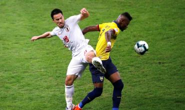 Ecuador y Japón empataron y Paraguay se clasifica a cuartos de la Copa América