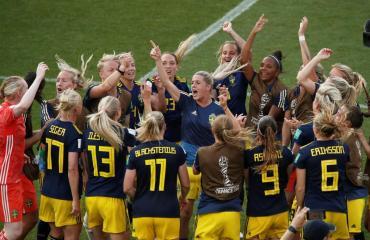 Suecia eliminó a Alemania y clasificó a las semifinales del Mundial Femenino