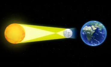 Eclipse total de sol se roba todas las miradas: cuando se alinean la Tierra, el sol y la luna