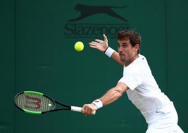 Wimbledon: Guido Pellavenció a Milos Raonic y avanzó a cuartos de final