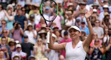 Wimbledon: la rumana Simona Halep, finalista por primera vez