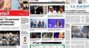 Tapas de diarios argentinos: despedida de Mora, elecciones, Wimbledon y asesino de taxista