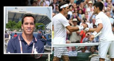 Un argentino en final de Wimbledon: Damián Steiner, umpire del duelo Djokovic-Federer
