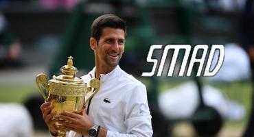 La victoria de Djokovic en Wimbledon con picos de 6 puntos, según medidora SMAD