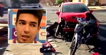 Jugador de Godoy Cruz que manejaba borracho, chocó y mató a chica de 17 años
