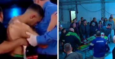 Boxeador argentino se desvaneció mientras leían el fallo tras pelea: está grave