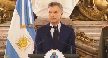 Macri, por caídos de las Fuerzas de Seguridad: