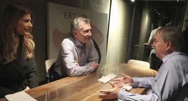 Macri cenó con Schiaretti en Córdoba y confirmó que cerrará allí su campaña para las PASO