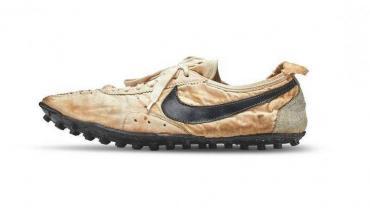 Nike rompió el récord en una subasta de calzado deportivo