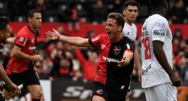 Newell's amargó el regreso a primera de Central Córdoba y le ganó en Superliga