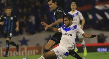 Racing remontó un partido difícil ante Vélez y rescató un punto sobre la hora en Liniers