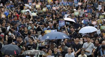 Tras enfrentamientos con la policía, nueva jornada de manifestaciones en Hong Kong