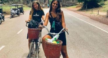 Estaban de vacaciones en Camboya, les robaron documentos y no consiguen permiso para salir del país