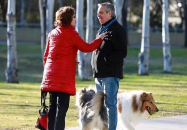 Alberto Fernández habló con Cristina Kirchner antes de votar: