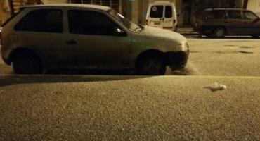 Mar del Plata y varias ciudades del interior de la Provincia amanecieron con nieve