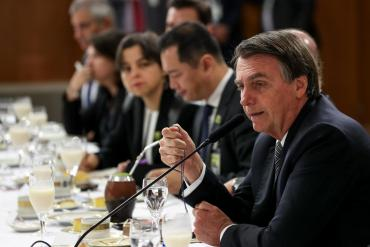 Bolsonaro habló del triunfo de Alberto Fernández: