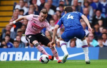 El Chelsea de Lampard volvió a mostrar fallas y dejó escapar dos puntos ante el Leicester