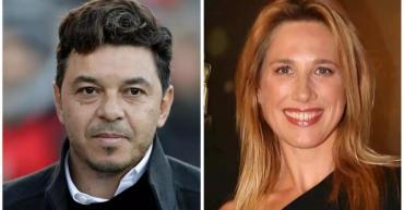 Rumores de romance entre la periodista Alina Moine y Marcelo Gallardo