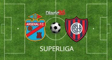 EN VIVO ONLINE: el líder e invicto Arsenal, recibe a San Lorenzo por Superliga