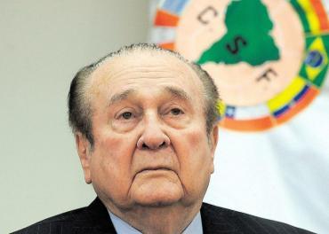 Murió Nicolás Leoz, ex presidente de Conmebol investigado por el FIFA Gate