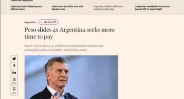 El Financial Times advirtió sobre posibilidad de otro
