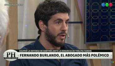 Marco Antonio Caponi cruzó al aire a Fernando Burlando por el caso Darthés