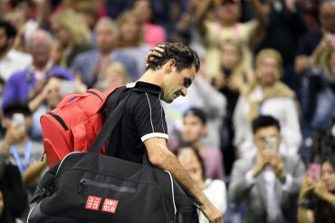 Dimitrov dio el gran golpe y eliminó a Federer en cuartos de final del US Open