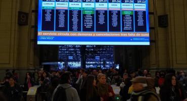 Tren Roca, con interrupciones y cancelaciones en su servicio por falta de energía eléctrica