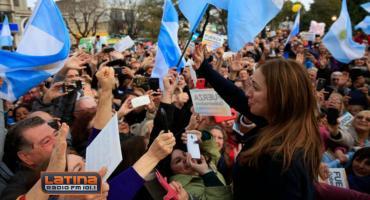 Tagliaferro sobre marcha en apoyo a Vidal: