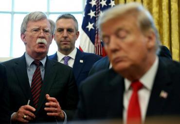 Trump despidió a su asesor de Seguridad Nacional John Bolton