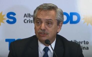 Alberto Fernández sobre el acampe: