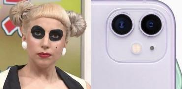 Furor en redes sociales por la comparación entre looks de Lady Gaga y iPhones