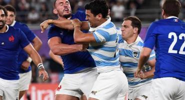 Mundial de Rugby: advertencia a Moroni por piñas en partido de Los Pumas y Francia