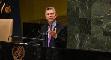 La agenda de la delegación argentina en la cumbre de la ONU