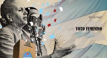 #Votofemenino: a 72 años del triunfo de la mujer, con la figura de Evita como emblema