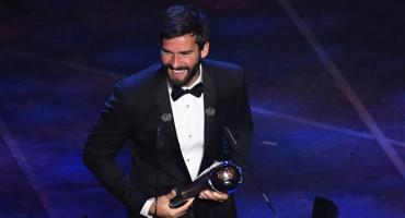 Premios FIFA The Best: Alisson Becker ganó como el mejor arquero del año