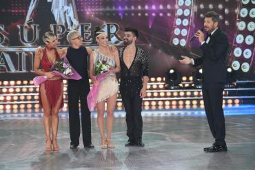 Súper Bailando: Charlotte Caniggia fue elegida y eliminó a Rodrigo Noya y Mora Godoy