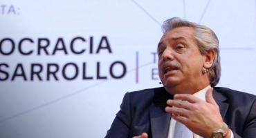 Alberto Fernández cierra encuentro sobre derecho penal y se mostrará con Lammens