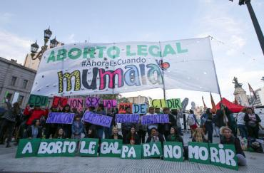 Día internacional por aborto legal: realizaron