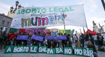 Día internacional por aborto legal: realizaron