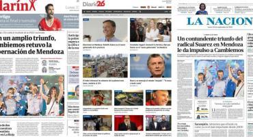Tapas de diarios argentinos: elecciones en Mendoza y se conocen cifras de pobreza