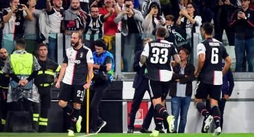 Juventus goleó al Bayer Leverkusen de la mano de Higuain y Cristiano Ronaldo