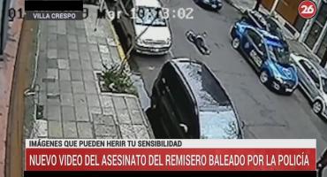 Villa Crespo: nuevo video complica a los policías que mataron al remisero