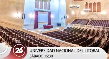 Debate presidencial en Canal 26: conocé la Universidad Nacional del Litoral