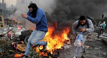 Nueva jornada de incidentes y protestas en Ecuador tras rechazar nuevo llamado al diálogo