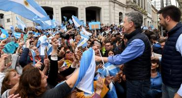 Mauricio Macri visita Paraná con una nueva marcha del