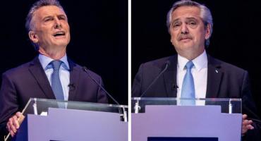 Tras el debate, Macri y Alberto Fernández retoman sus agendas en Paraná y Rosario