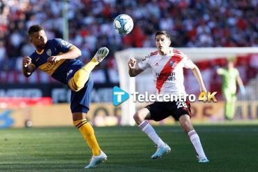 Boca vs River, el Superclásico por Copa Libertadores se vive en Alta Definición por Telecentro 4K