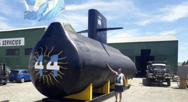 Presentan en Mar del Plata réplica del ARA San Juan en homenaje a los 44 tripulantes